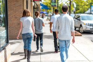 people walking, exercise, teen