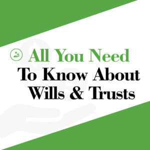 wills trusts divorce ebook cover