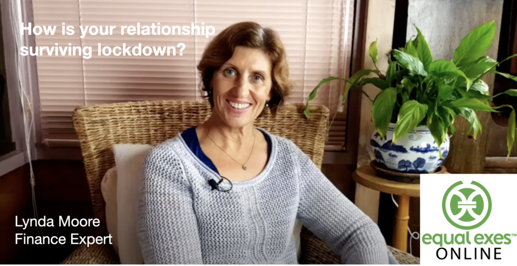 Lynda Moore, relationship lockdown, financial